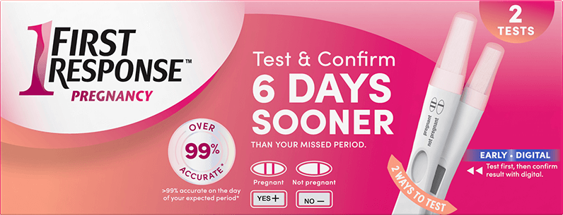 Test And Confirm Pregnancy Test | First Response
