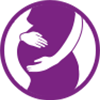 First Response pregnancy icon in purple