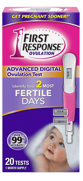 First Response daily ovulation test