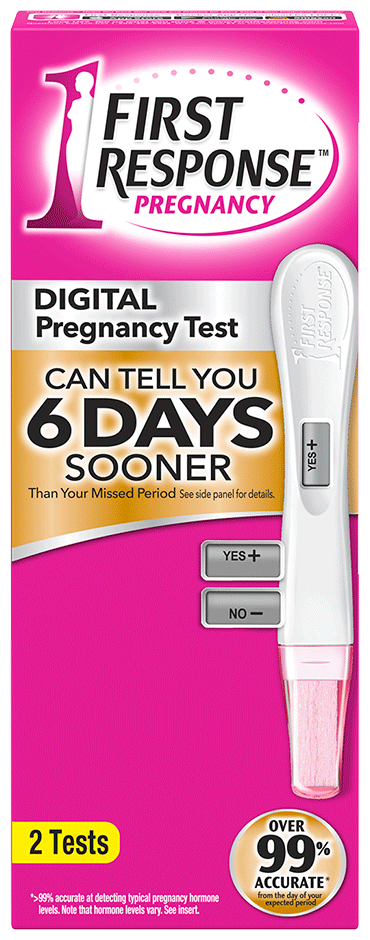 Gold Digital Pregnancy Test First Response
