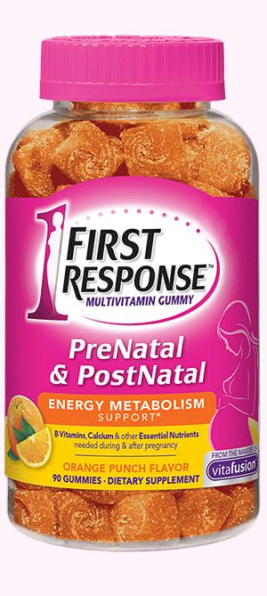 prenatal postnatal multivitamin gummies