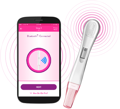 Pregnancy PRO bluetooth synch