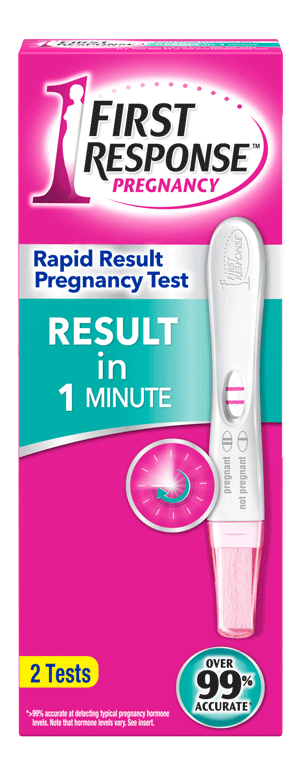 FIRST RESPONSE™ Rapid Result Pregnancy Test