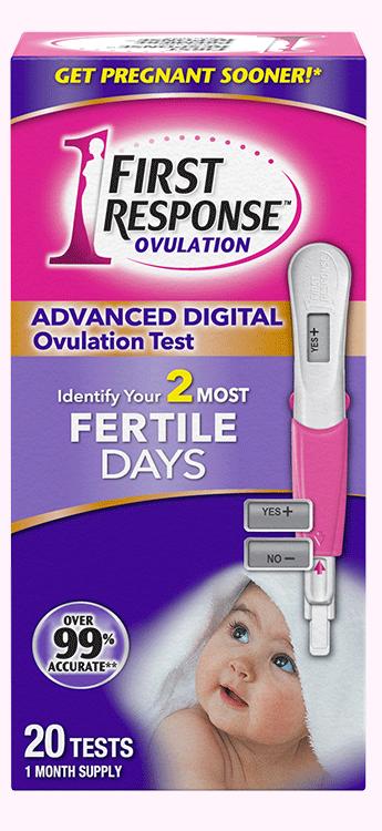 Advanced Digital Ovulation Test | First Response | FIRST