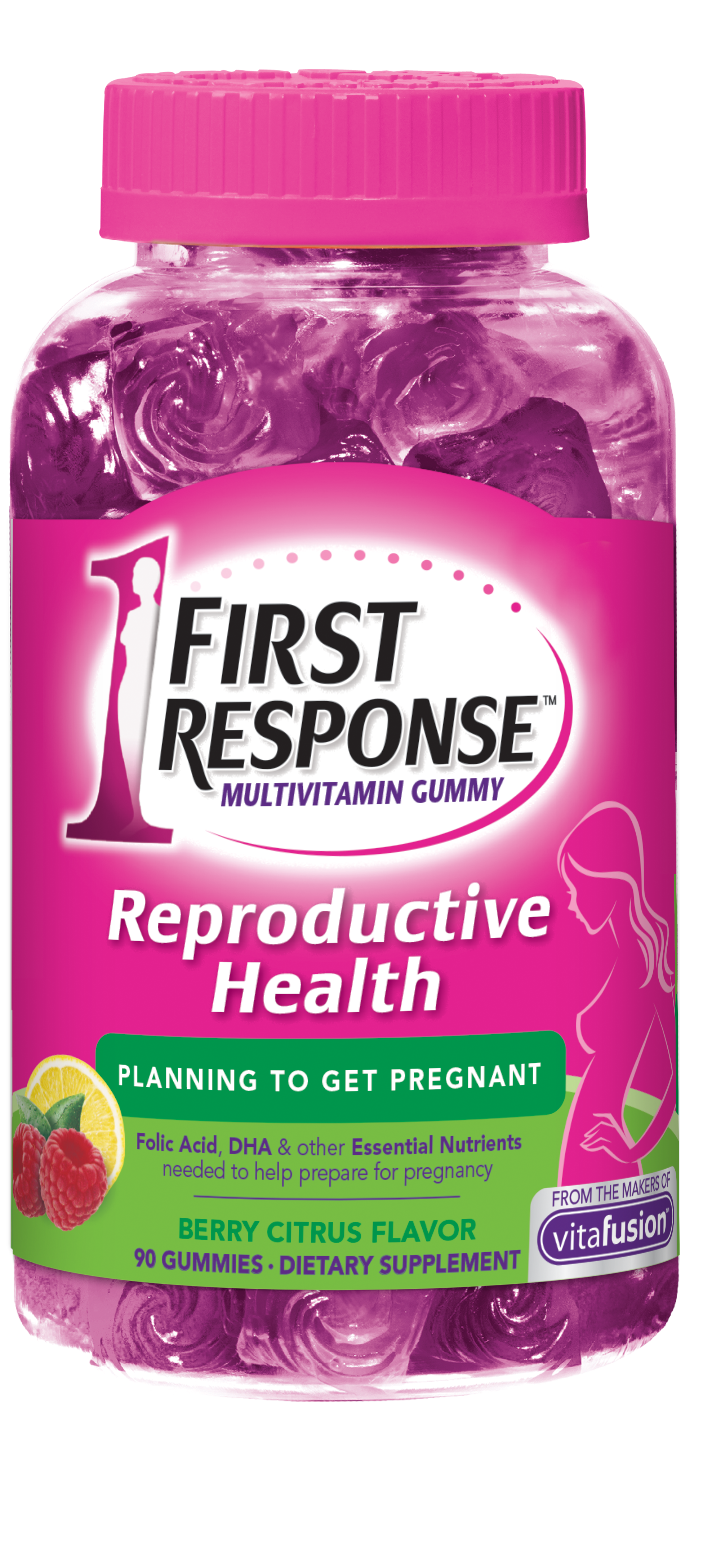 Reproductive Health Multivitamin Gummies | First Response | FIRST