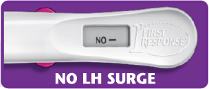 First Response ovulation test with no LH surge