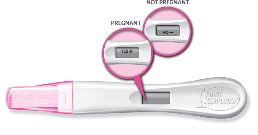 Digital Pregnancy Test | First Response