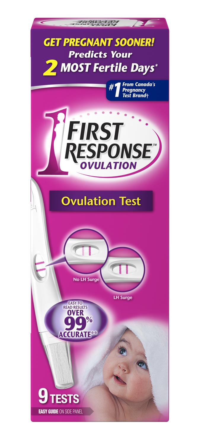 Coupons first response pregnancy test